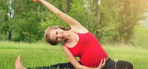Можно ли беременной женщине делать упражнения на растяжку ног