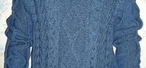 Как растенуть севший свитер