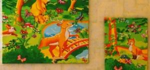 Как просто сделать панно для детской комнаты своими руками