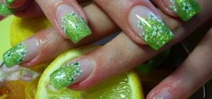 Современные методы наращивания ногтей