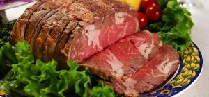 Как приготовить говядину с салатом и овощами