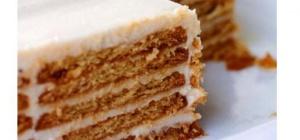 Делаем очень быстро и просто торт из печенья