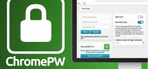 Как поставить пароль на браузер Chrome