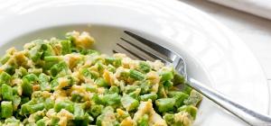 Как приготовить фасоль с яйцами
