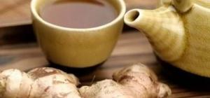 Чем полезен чай с имбирем