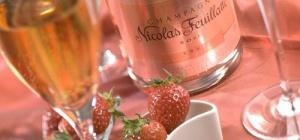 Лучшее розовое шампанское