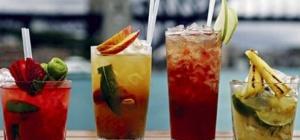 Рецепты коктейлей с водкой