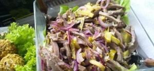 Как приготовить салат из языка
