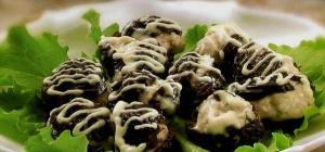 Закусочные «мидии» из чернослива