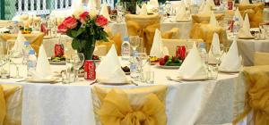 Как составить свадебное меню на 70 человек