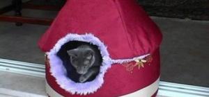 Домик-кроватка для кошки
