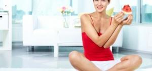 Как резко похудеть