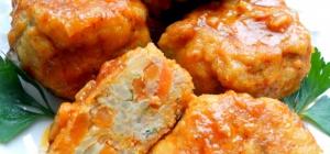 Как приготовить мясные «ежики» с морковью