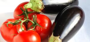 Как приготовить баклажаны с помидорами на гриле