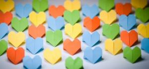 Как сделать сердце из оригами