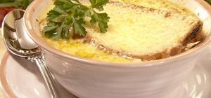 Французский луковый суп в мультиварке