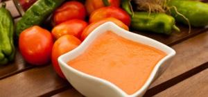 Как приготовить суп-пюре из сладкого перца