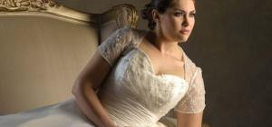 Как выбрать свадебное платье большого размера