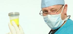 Интерпретация клинического анализа мочи