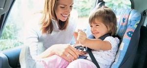 Как правильно установить детское автокресло