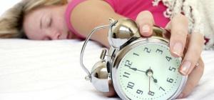 Режим сна при тяжелых умственных и физических нагрузках организма