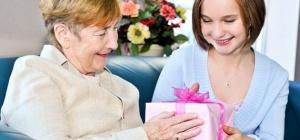 Как оригинально поздравить бабушку с днем рождения