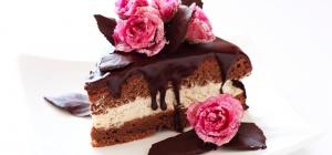 Как приготовить шоколадный торт со смородиной
