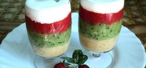 Как приготовить ягодный низкокалорийный десерт