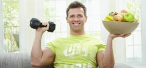 Какая диета подходит мужчинам для набора веса