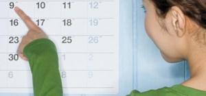 Какие дни неблагоприятны  для зачатия