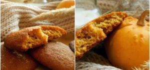 Как приготовить тыквенно-медовое печенье