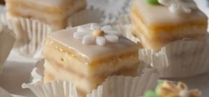 Французское пирожное