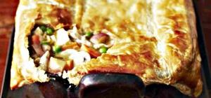 Как приготовить слоеный пирог с луком