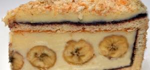 Как приготовить торт «Банановый рай»?
