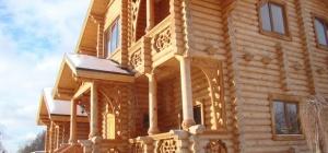 Как выглядит деревянный дом
