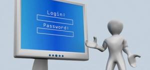 Как писать логин и пароль