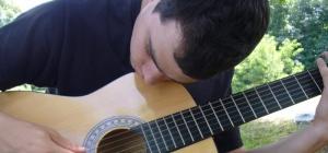 Как играть на гитаре перебором