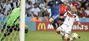 Как сыграла команда Германии на ЧМ 2014 по футболу