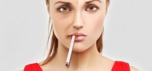 Вред курения для кожи
