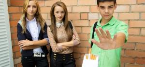 Как отучить подростка курить