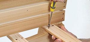 Как соорудить своими руками стулья из дерева