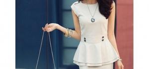 Как сшить женский летний костюм с юбкой