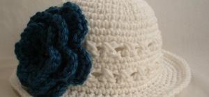 Как связать летнюю шляпу крючком