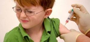 Шишка после прививки у ребенка - что делать?