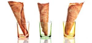 Как приготовить миндальные трубочки для мороженого