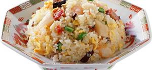 Рисовая каша с грибами и карри