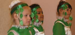 Как сделать костюм березки на праздник своими руками