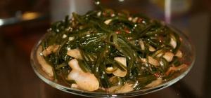 Что можно приготовить из морской капусты
