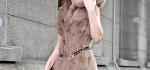 Меховые жилетки из кролика: как выбрать и с чем носить
