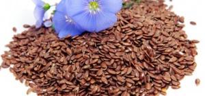 Семя льна: противопоказания